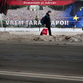 Romania offers Moldova aid to keep it solvent, and with West