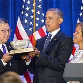 Obama promises party faithful: 'Democrats willwin'