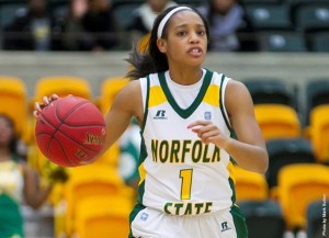 Long-time local rivals Norfolk State and Hampton meet for the first installment of their yearly basketball series at 4 p.m. this Saturday, Jan 30, at the HU Convocation Center. The Spartans are still in search of their first win of the year, while Hampton remains in first place in the conference, one game ahead of second-place Bethune-Cookman. Photo from NSUSpartans.com