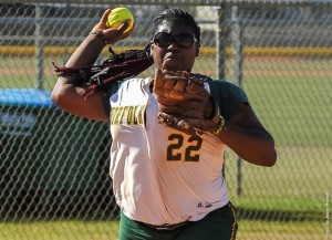 Norfolk State senior third baseman Whitney Williams was named to the preseason All-MEAC team. Photo from NSUSpartans.com.