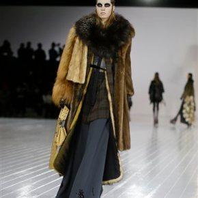 Fashion Week: Gaga walks in Marc Jacobs to close outNYFW