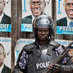 Many Ugandans wary of protests over election dispute
