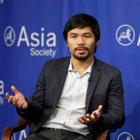 Manny Pacquiao says he respects Nike's decision to drop him