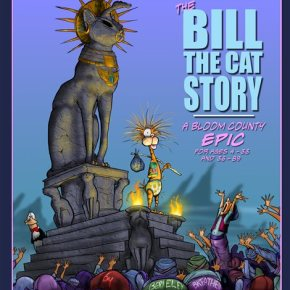 Ack! Picture book on Bill the Cat coming in September