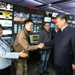 Xi tours Chinese top state media, demands total loyalty