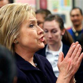 The Latest: Clinton calls US-Apple fight a 'dilemma'