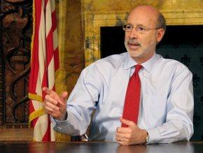 Pennsylvania governor says he has treatable prostatecancer