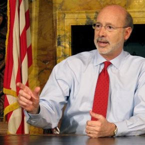 Pennsylvania governor says he has treatable prostate cancer