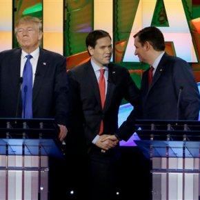 Rubio and allies renew Trump attacks after wilddebate