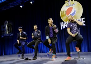 Coldplay to honor past, present and future at Super Bowl