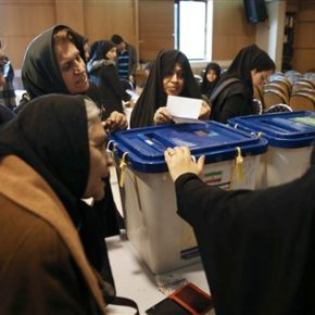 Iran votes in first elections since landmark nucleardeal