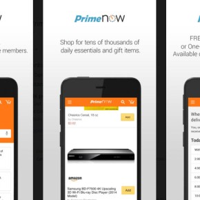 Amazon Prime Now 1-2 hour delivery service available in HamptonRoads