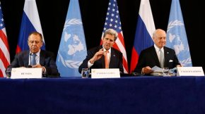 Kerry calls for genuine negotiation on Syria
