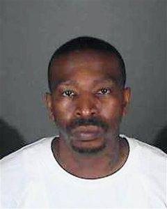 FILE - This undated file photo provided by the Los Angeles County Sheriff's Department shows inmate Steven Lawrence Wright. The department says Wright, a murder suspect mistakenly released from jail Jan. 30, 2016, has been captured in Nevada. The department says detectives learned Monday, Feb. 8, 2016 that Wright might be hiding in a Boulder City hotel and requested assistance from the FBI and local police departments. Wright was taken into custody without incident.(Los Angeles County Sheriff's Department via AP)