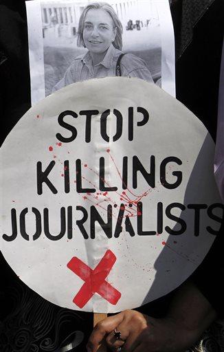 Belgium World Journalist Killing