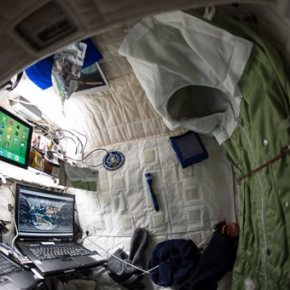 One-year spaceman sees mission as 'steppingstone' to Mars
