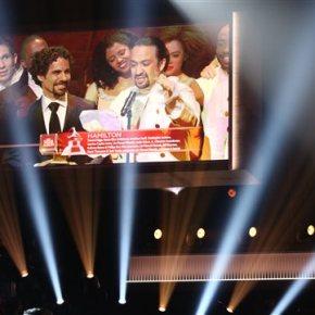Lin-Manuel Miranda's 'Hamilton' wins Kennedy Prize forDrama