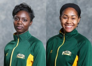 Nickheila John turned in her top time in the 400 meters this season, and Brianna Hayes tied her season-best in the high jump for the NSU women's track and field team over the weekend at the Penn State National.