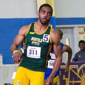 Lee, Coles capture gold as NSU men place 5th at MEAC indoor championship