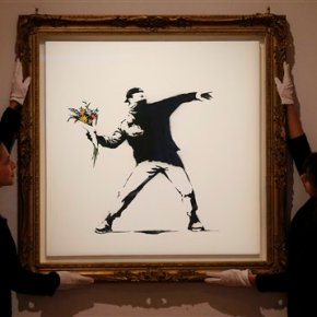 Scientists use math to hunt for identity of elusiveBanksy