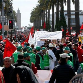 Huge Moroccan protests against UN chief's stance on WSahara
