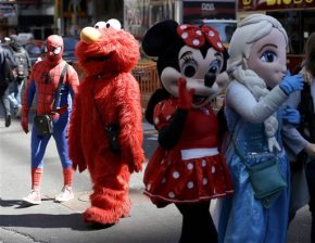 NYC Council holds hearing on regulating costumed characters