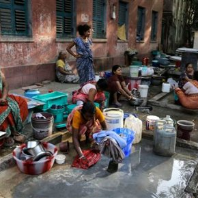 India has the most people without clean water, reportsays