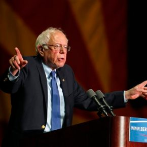 Sanders says Clinton does not have 'insurmountable lead'