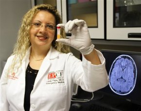 Blood test for concussions? Researchers report someprogress