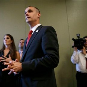 Police charge Trump campaign manager with battery