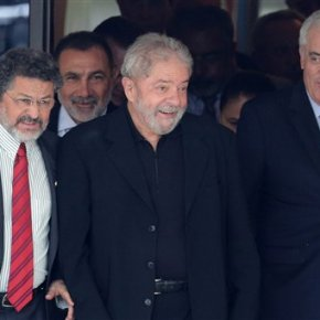 Brazil's ex-president charged in money laundering probe