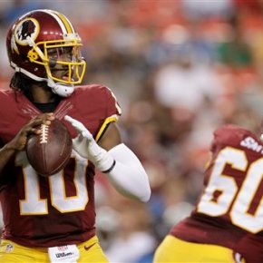 Redskins announce they have released QB Robert Griffin III