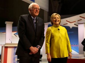 Trade, manufacturing at forefront of Clinton-Sanders race