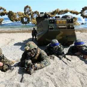 North Korea, again, demands halt to US-South Korea war games