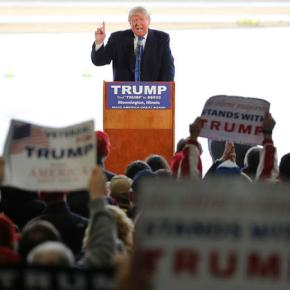 Trump turns eyes toward pivotal primaries