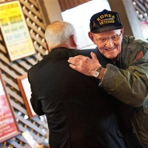 Veterans meet monthly to share stories, good-natured ribbing