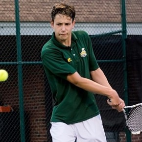 Henning wins at top singles in NSU's 6-1 loss to #70 William & Mary