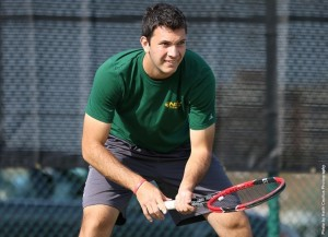 Freshman Flavian Fernandez rallied from a deficit in the third set of the last match of the afternoon to give the Norfolk State men's tennis team a 4-3 win over rival Hampton on Tuesday at the NSU Tennis Complex.