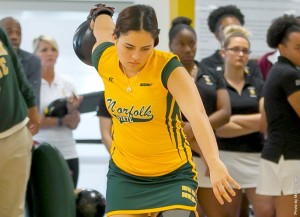 The Norfolk State bowling team won the if-necessary match of its side of the conference tournament bracket on Saturday afternoon against UMES to advance to MEAC Championship final on Sunday at the AMF Lanes in Chesapeake.