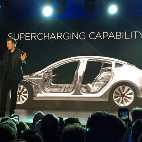 The Latest: Tesla has 115,000 reservations for new Model 3