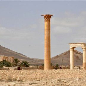 Syria's Palmyra: Ghost town bearing scars of ISdestruction