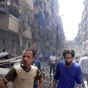 Violence in Syria's Aleppo kills many including worshippers