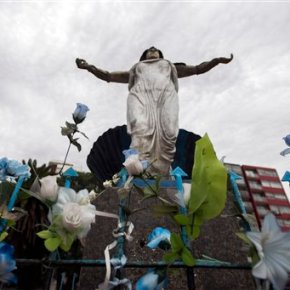 Virgin Mary statue stirs up debate in secular Uruguay