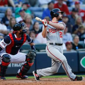 Murphy a huge hit in Nats debut, 4-3 win over Braves in10
