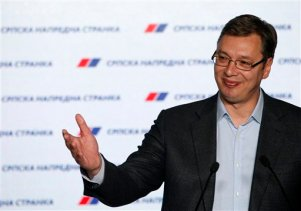 APTOPIX Serbia Elections