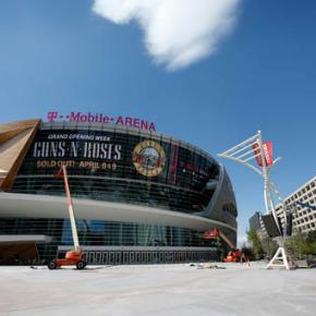 MGM bets on live events with T-Mobile Arena, new theater