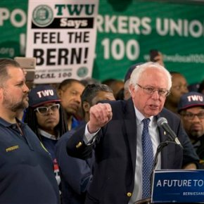 Sanders, Clinton campaign in New York ahead of state primary