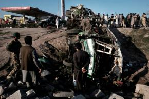 Afghan official: Suicide attack kills 12 new army recruits
