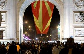 Macedonians protests continue as EU cancels crisistalks