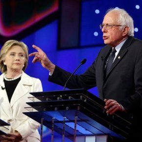 Clinton, Sanders show their fighting side